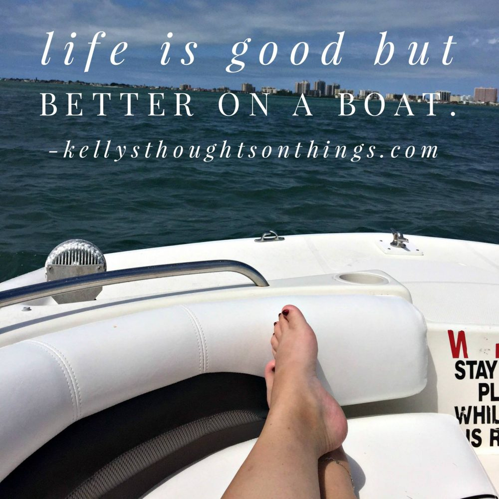 What Are YOU Doing This Summer- Go Boating!