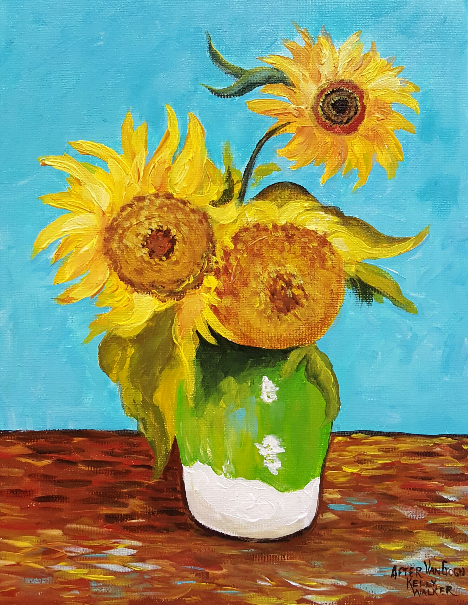 Vincent Van Gogh Paintings Sunflowers Van Gogh Flowers Quota Place For Learning Quot