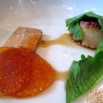 Scallop with Foie Gras Terrine