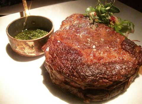 Aged Ribeye Seasons Restaurant
