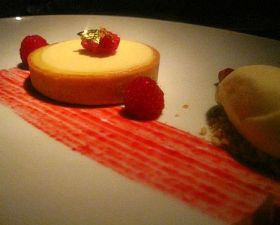 Lemon Tart Seasons Restaurant