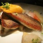 Loup de Mer with Rancho Gordo Beans