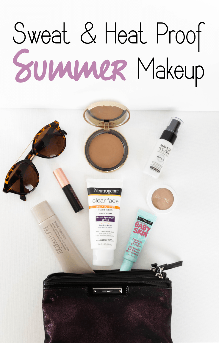 Sweat & Heat Proof Summer Makeup