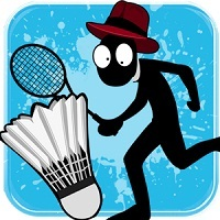 Stickman Badminton