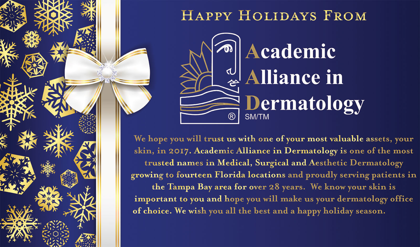 Appealing Happy Holidays Wishes From Academic Alliance Dermatology Happy Holidays Wishes Italian Happy Holidays Wishes Family Dermatology Happy Holidays Wishes From Academic Alliance inspiration Happy Holidays Wishes
