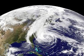 Hurricane Sandy Blows
