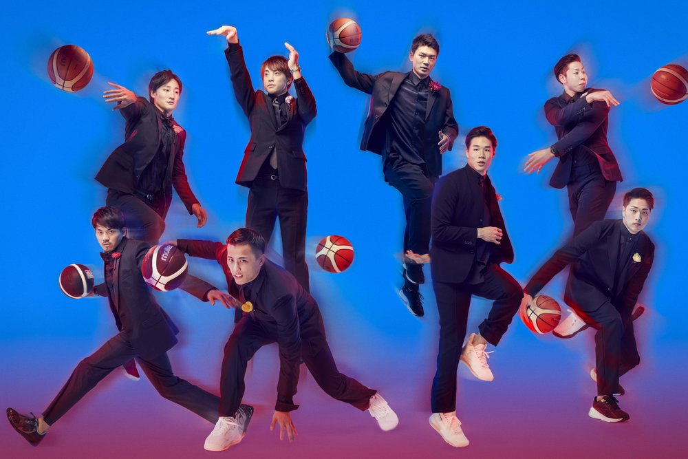 GQ Japan – B.LEAGUE players  KEN YOSHIMURA HAIR