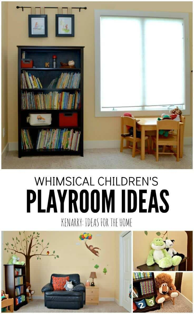 Fun Playroom Ideas Kids Playroom Ideas A Whimsical And Fun Reveal