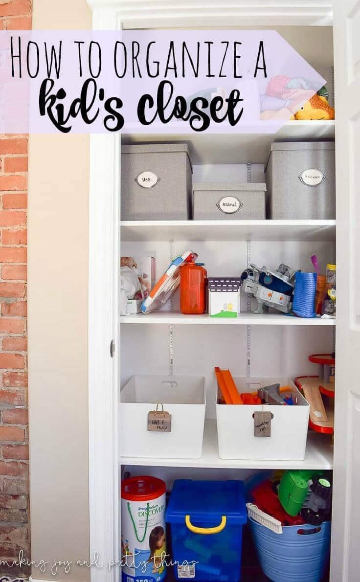 Closet Storage Solutions How To Organize Your Kid S Closet