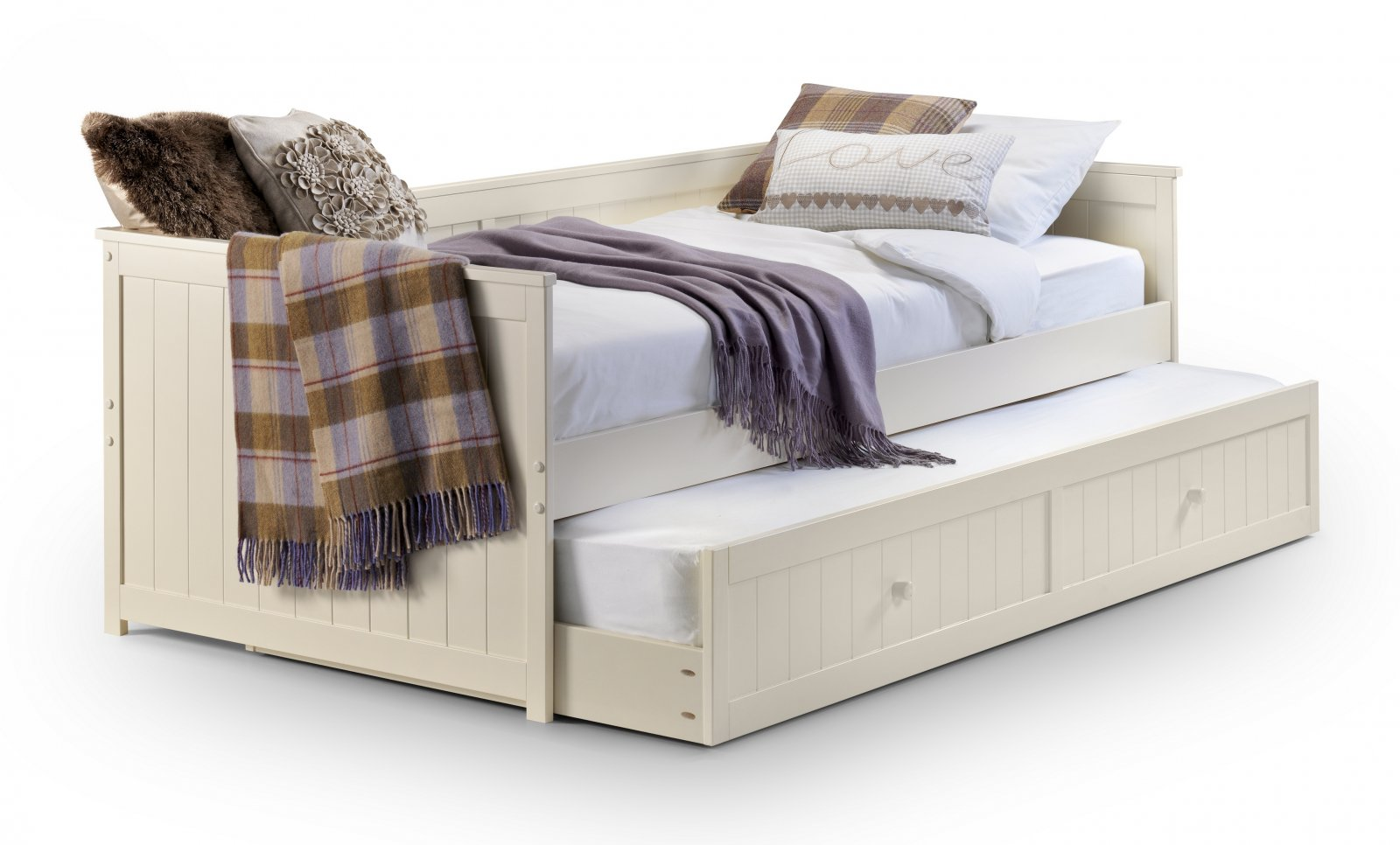 Childrens Beds With Pull Out Bed Underneath Gale S Julia Daybed With Underbed Trundle Kendal Bed Centre