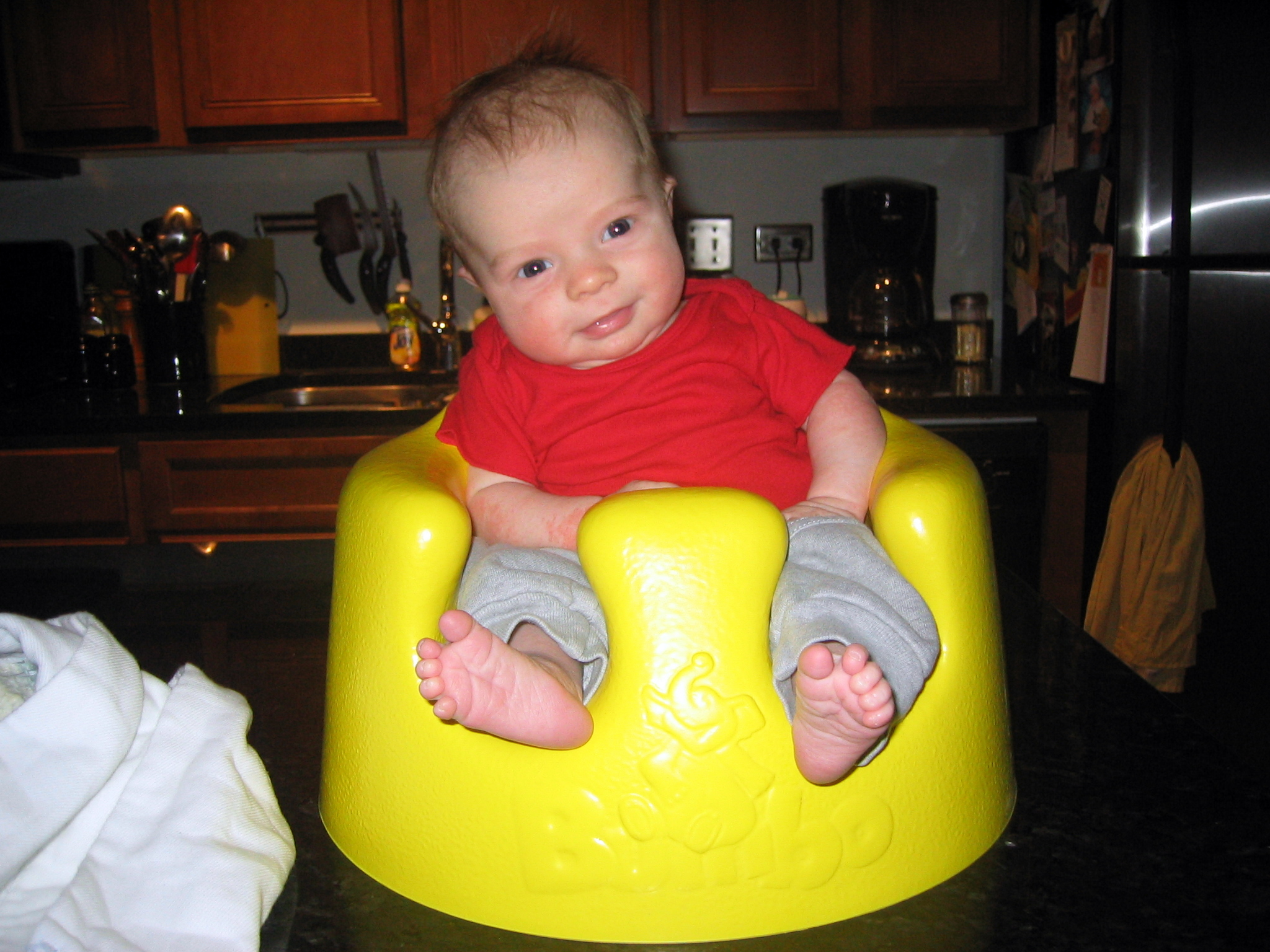 Infant Learning Chair Is The Bumbo A No No Kendra Ped Pt