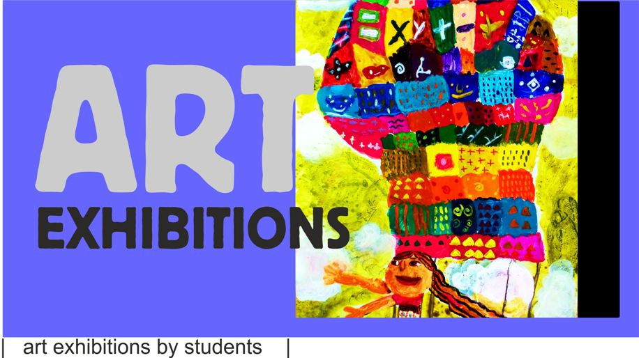 Art exhibition 2014 - see link for earlier exhibitions