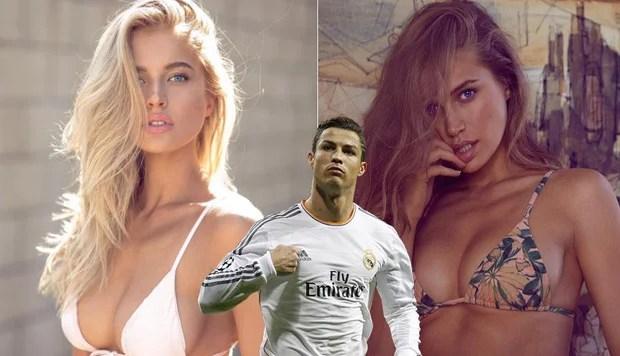 Siêu mẫu Nga nóng bỏng muốn... lên giường với Ronaldo - Ảnh 2.