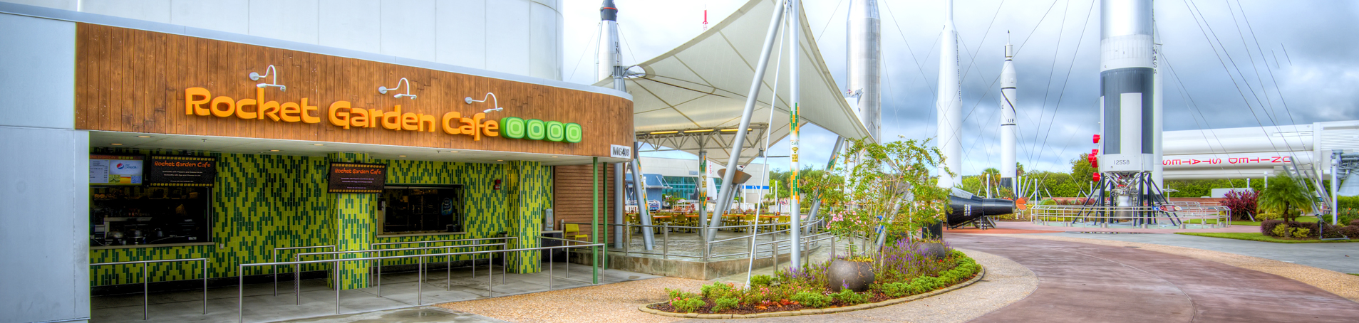 Coffee Shop With Garden Near Me Food At Kennedy Space Center Visitor Complex