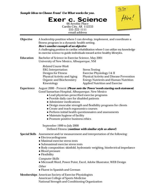 resume en english - Minimfagency