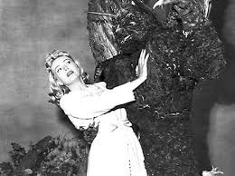 Adele Jergens in The Day the World Ended. Don't you just love '50s sci-fi!