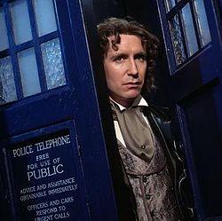 Paul McGann, the 8th Doctor