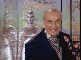 Fritz Feld in Lost in Space. He would reprise this role two more times in the series.