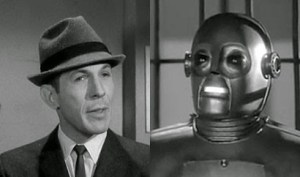 Leonard Nimoy in The Outer Limits episode, I Robot