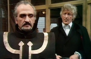 Roger Delgado as The Master in the Doctor Who episode, Colony in Space.