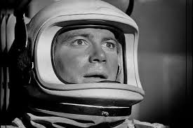William Shatner in The Outer Limits episode, Cold Hands Warm Heart.