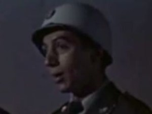 Richard Deacon as a MP in Invaders from Mars
