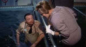 Peter Lorre in Voyage to the Bottom of the Sea
