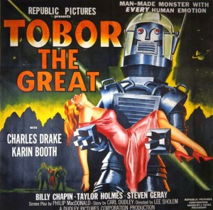 Tobor The Great released 1954