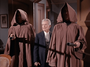 Morgan Farley (middle) in Star Trek