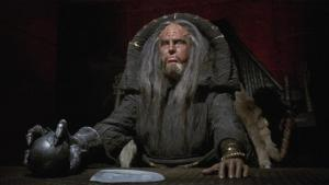 Robert Easton as the Klingon Magistrate in Star Trek VI: The Undiscovered Country