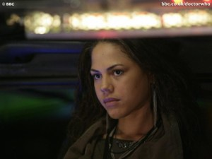 Lenora Crichlow in Doctor Who