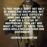 George Washington on Maintaining Independence