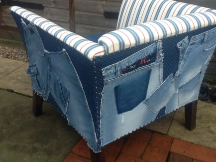 Chair Denim Stripe 4