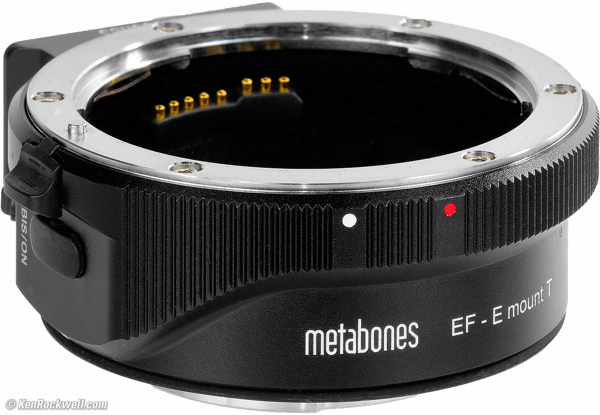 Bis 1.2 Fireplace Manual Metabones Canon Ef To Sony E Mount Smart Adapter T Mark V Review