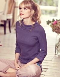 Boden Autumn 2012  Helena Christensen models new ...