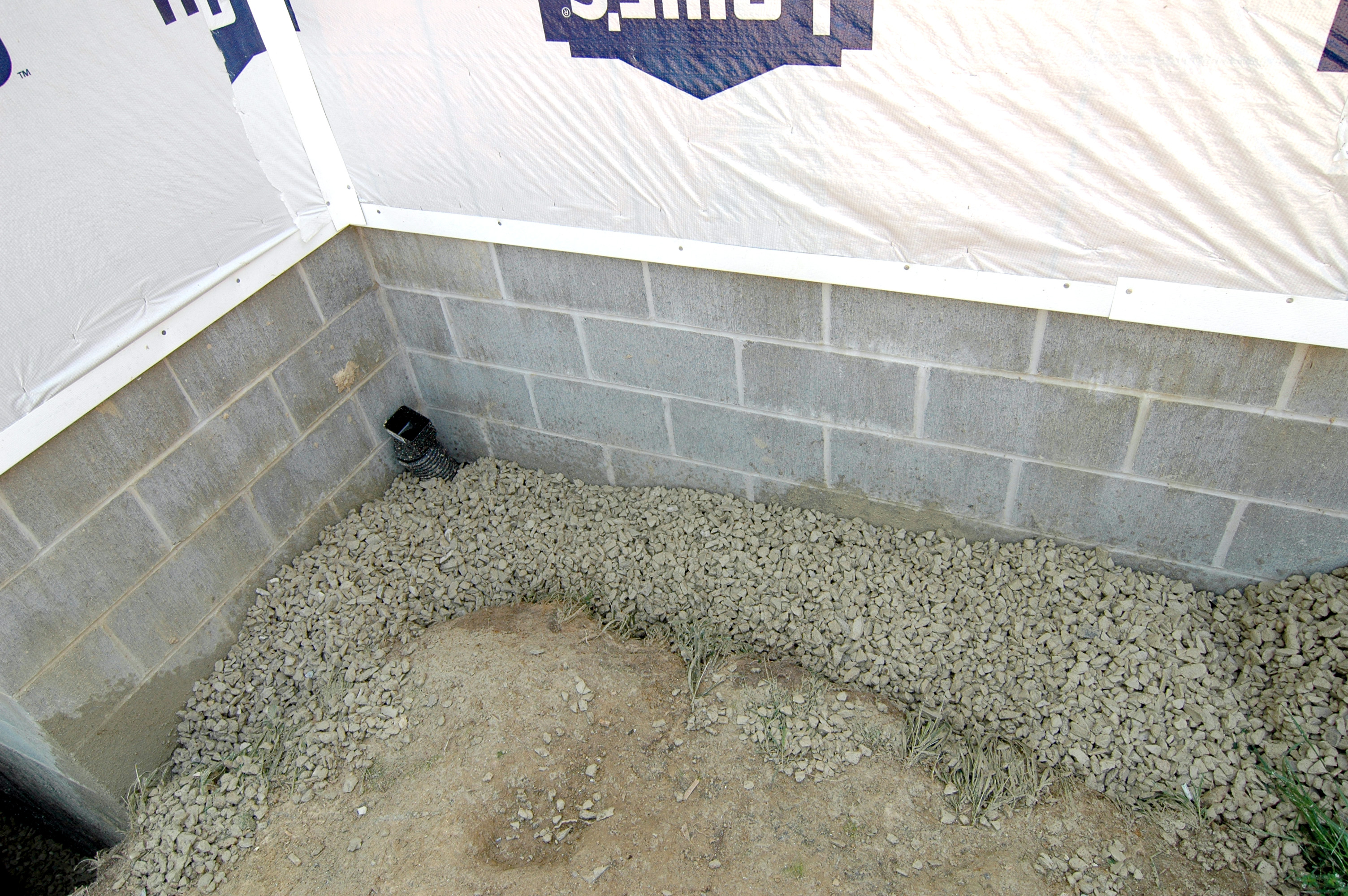 Garage Floor Tiles That Drain August 19 Gravel For Garage Floor And Perimeter Drain Ken S