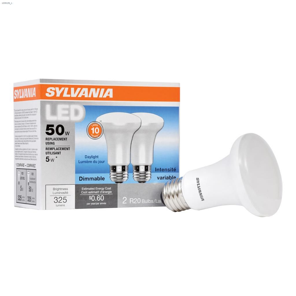 5 Watt Led 5 Watt Medium R20 Led Bulb 2 Pack