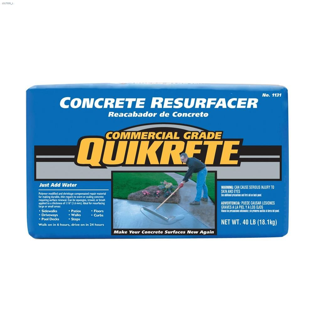 Buy Quikrete Countertop Mix Kent Ca The Quikrete Companies 40 Lb Bag Box Grey To