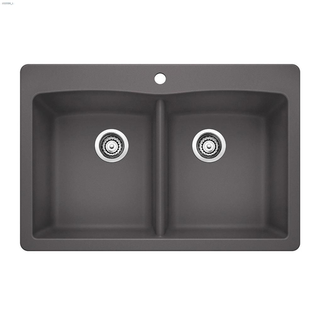 Blanco Farmhouse Sink Reviews Kent Ca Blanco Silgranit Diamond 210 33 Quot X 22 Quot Cinder