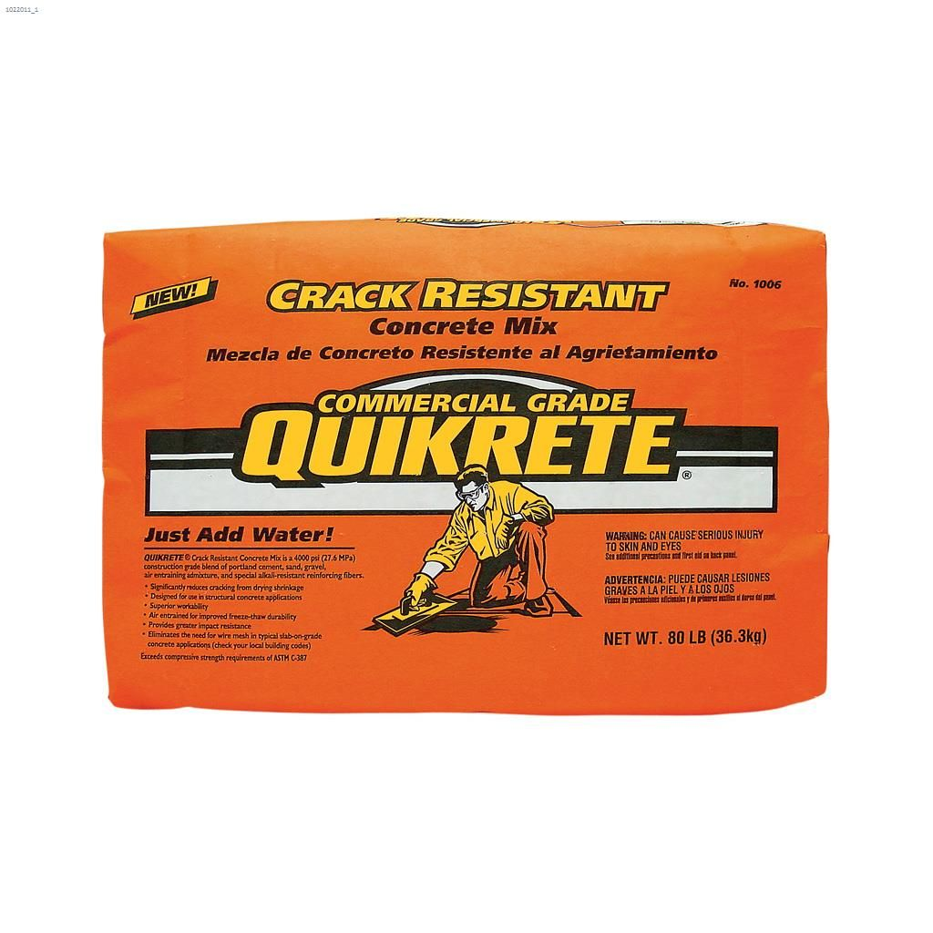 Buy Quikrete Countertop Mix Kent Ca The Quikrete Companies 80 Lb Bag Concrete Mix