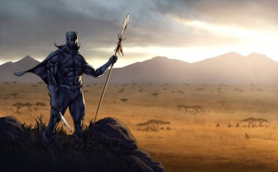 The Black Panther: Warrior King of Wakanda   Kentake Page