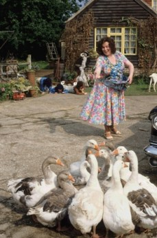 Ma with Geese