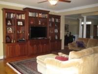 Living Room with Entertainment Center | Kenton Construction