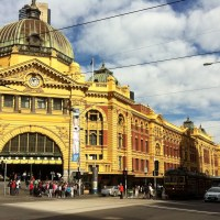 Melbourne in 5 days: Day 1 (walking, maps, & transport)