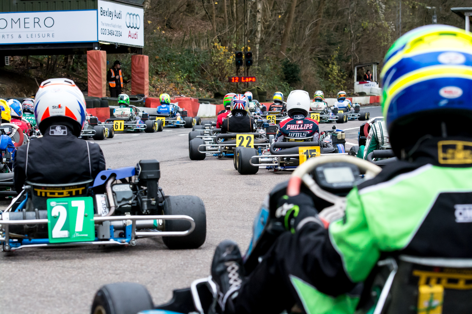 Buckmore Park Karting Death Double Points At Buckmore Park Finale Kent Sports News