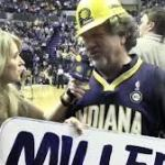 Unsure of this guy's name, but he's been a ridiculous staple of Pacers games for many years