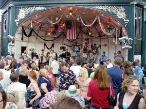 What Murray the K was for the Bealtes, Jeff Pigeon was for the band that will play tonight at the Rathskeller's Biergarten.