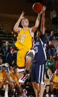 Ryan Sterling played for the Ramblers for four seasons.  Good basketball player, better son.