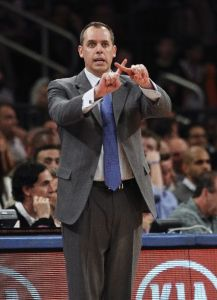 No amount of Pacers coach Frank Vogel jinxes could stop the Knicks tonight