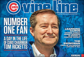 """Oh, you think you're the number one Cubs fan? Well I have a magazine that says I am."""